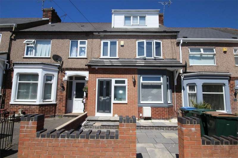 2 Bedrooms Terraced House for sale in Clovelly Road, Wyken, Coventry, West Midlands