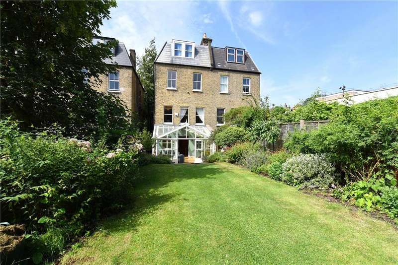 6 Bedrooms Semi Detached House for sale in West Hill Road, Southfields, London, SW18