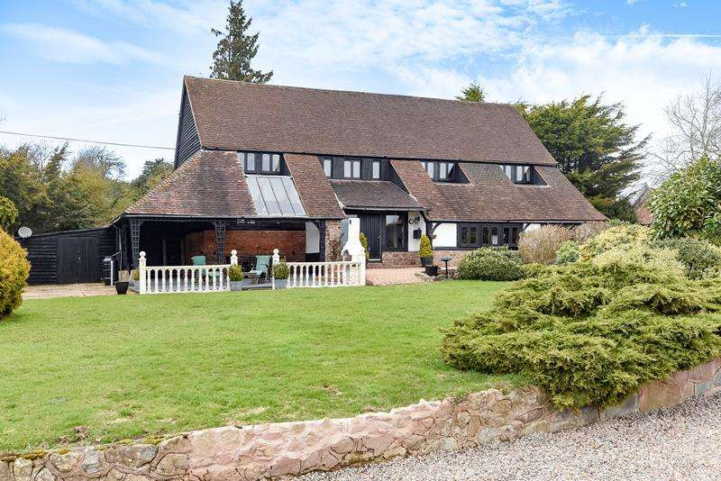 4 Bedrooms Detached House for sale in Brinsop Barn, Stretton Grandison, Ledbury, Herefordshire, HR8 2TS