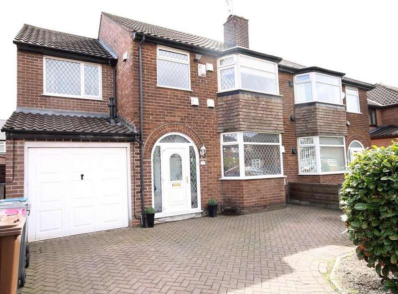 4 Bedrooms Semi Detached House for sale in Greenacre Lane, Worsley, Manchester