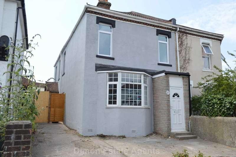 3 Bedrooms Semi Detached House for sale in Brockhurst Road, Gosport