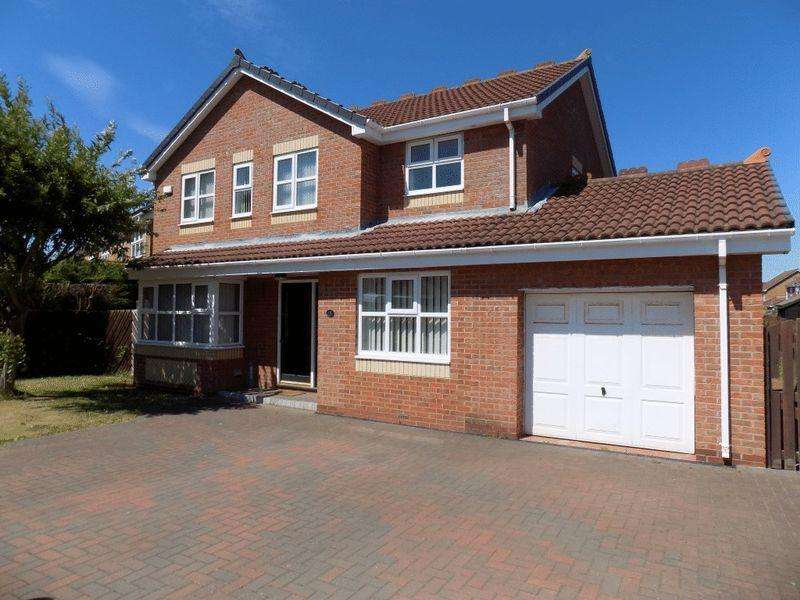 4 Bedrooms Detached House for sale in Conway Close, Hazelmere, Bedlington - Spacious Four Bedroom Detached House With Double Garage