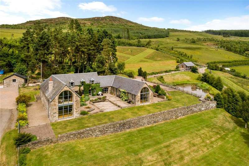5 Bedrooms Unique Property for sale in Lurgan Steading, Camserney, Aberfeldy, Perthshire, PH15