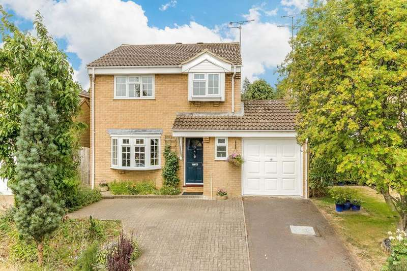 4 Bedrooms Detached House for sale in Hubbard Close, Buckingham