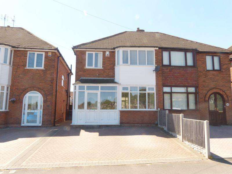 3 Bedrooms Semi Detached House for sale in Glenmead Road, Great Barr, Birmingham