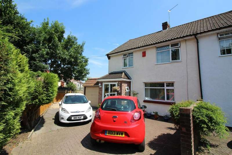 3 Bedrooms Semi Detached House for sale in Wesley Close, Bristol, BS16 4PE