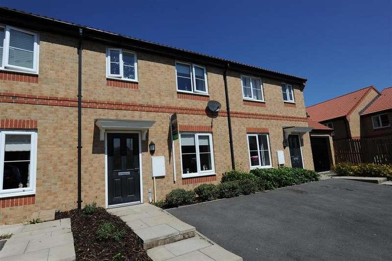 3 Bedrooms Terraced House for sale in Rosebud Way, Colburn, Catterick Garrison