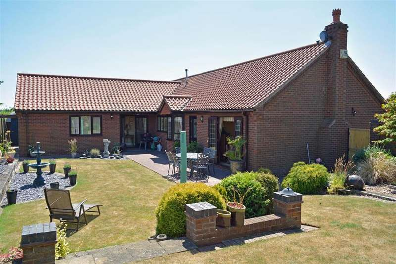 4 Bedrooms Detached Bungalow for sale in High Garth, Bottesford, Scunthorpe