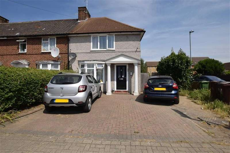 3 Bedrooms End Of Terrace House for sale in Hedgemans Road, Dagenham, Essex