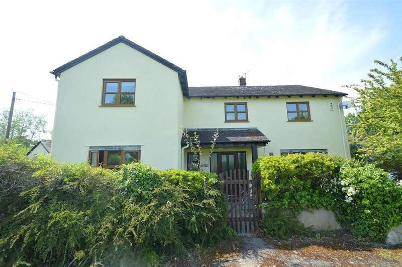 4 Bedrooms Detached House for sale in Pentre Lodge, Church Stoke, Montgomery, SY15 6SU