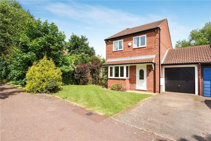 3 Bedrooms Link Detached House for sale in Attingham Hill, Great Holm, Milton Keynes, Buckinghamshire