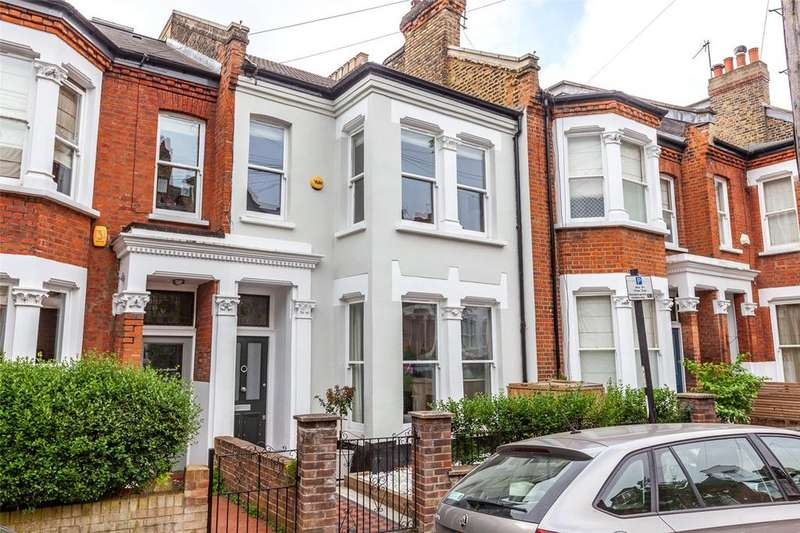 4 Bedrooms Terraced House for sale in Parolles Road, London, N19
