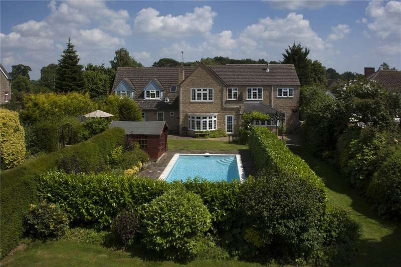 5 Bedrooms Detached House for sale in Horns Lane, Combe, Witney, Oxfordshire, OX29