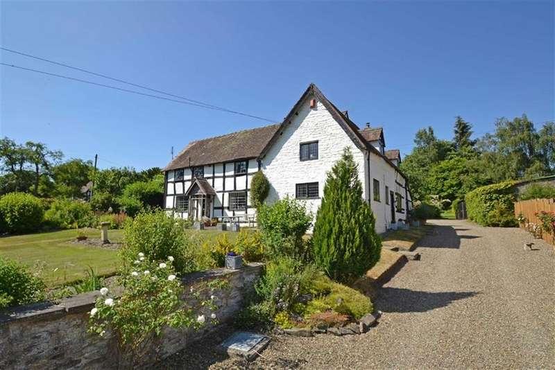 5 Bedrooms Detached House for sale in Hopton Castle, Bucknell