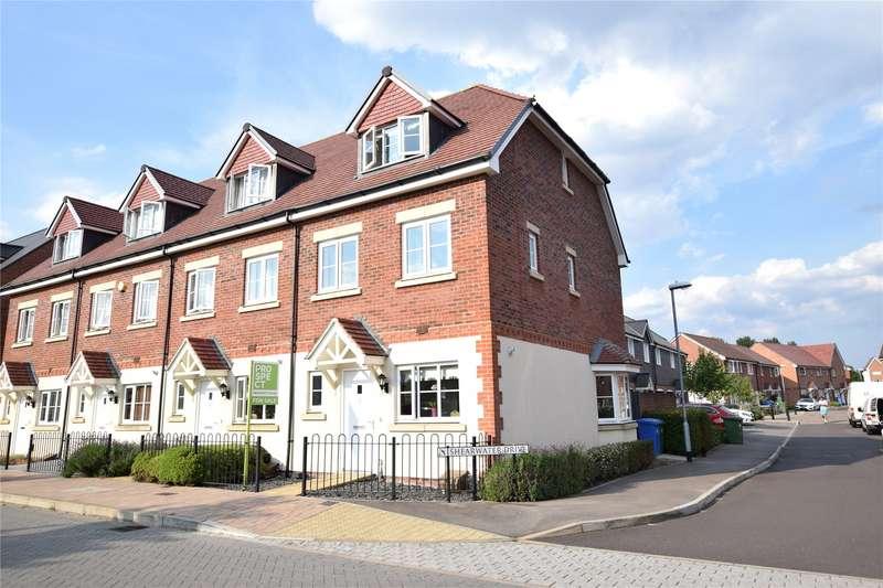 3 Bedrooms End Of Terrace House for sale in Fulmar Crescent, Jennett's Park, Bracknell, Berkshire, RG12