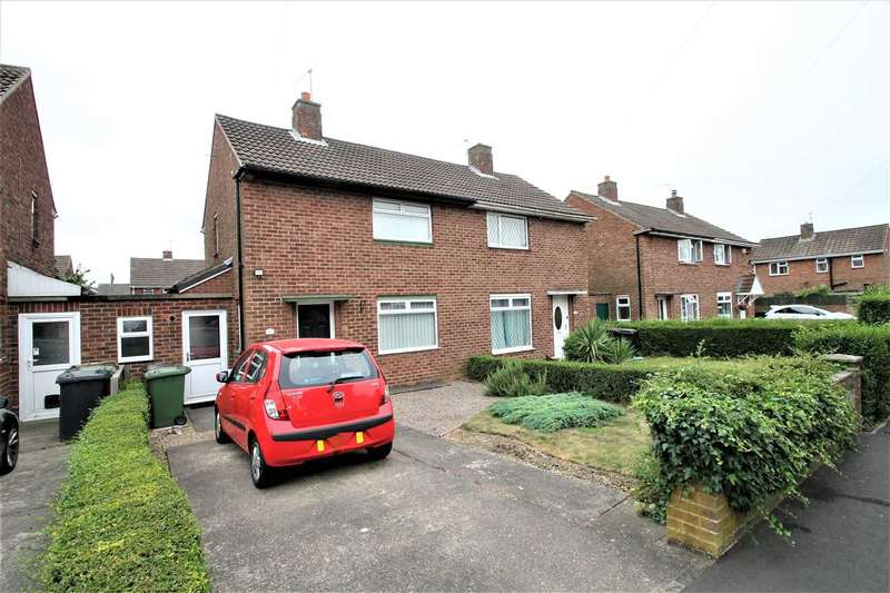 2 Bedrooms Semi Detached House for sale in Woodburn Close, Lincoln