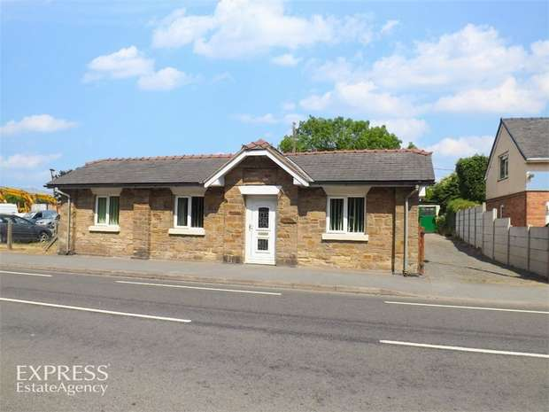 3 Bedrooms Detached Bungalow for sale in Holyhead Road, Chirk, Wrexham
