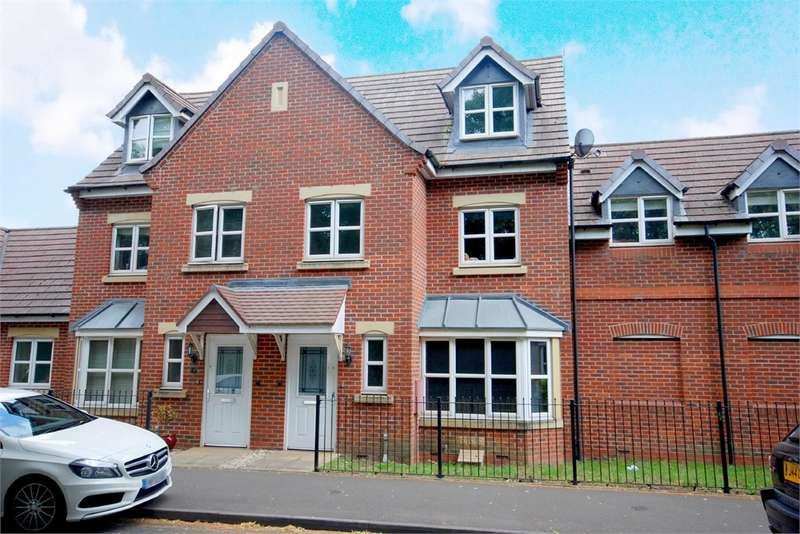 4 Bedrooms Terraced House for sale in St Peters Road, RUGBY, Warwickshire