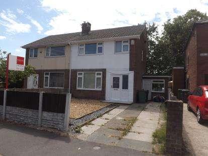 3 Bedrooms Semi Detached House for sale in Elm Avenue, Golborne, Warrington, Greater Manchester