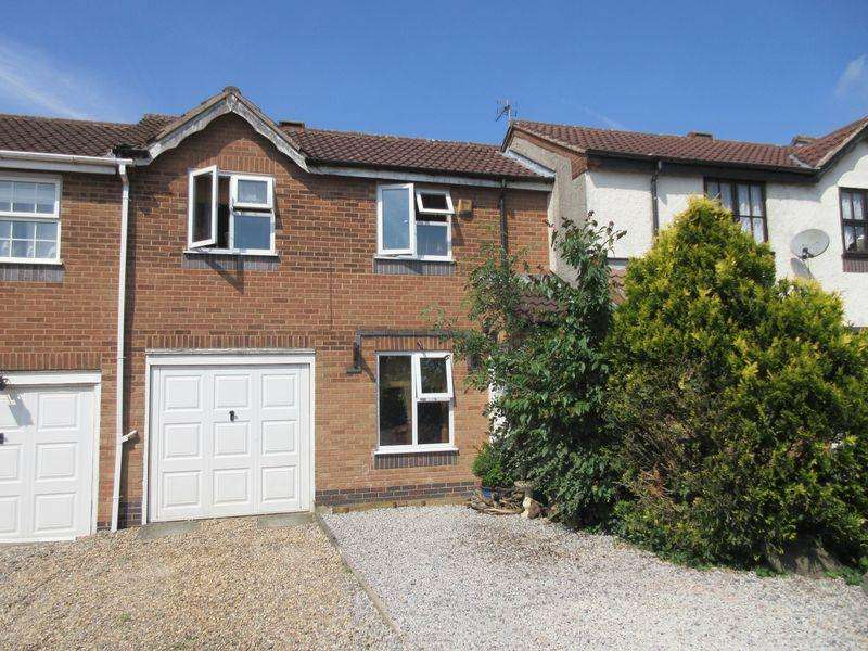 2 Bedrooms Terraced House for sale in Swithland Close, Markfield