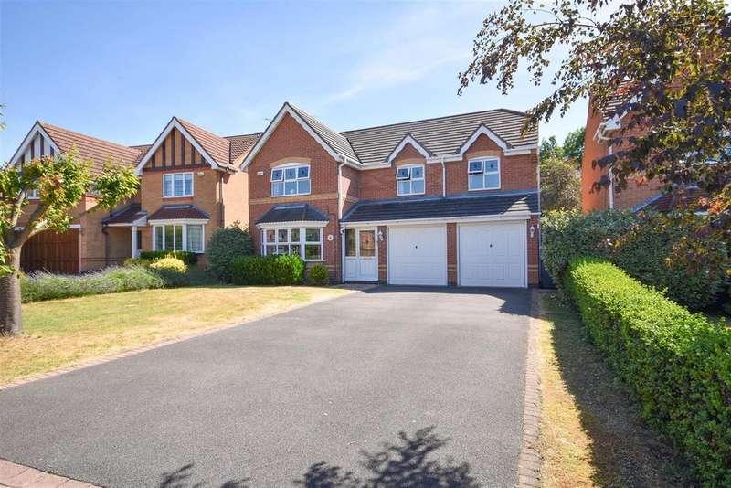5 Bedrooms Detached House for sale in Longlands Drive, West Bridgford, Nottingham
