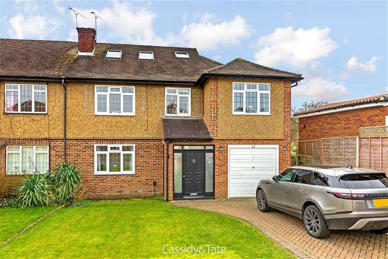 5 Bedrooms Semi Detached House for sale in Packhorse Close, St Albans, Hertfordshire