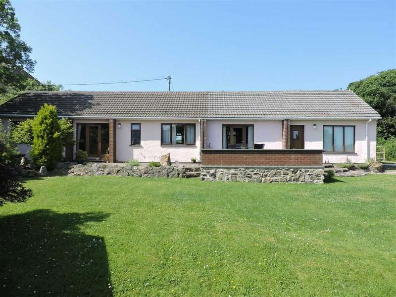 3 Bedrooms Detached Bungalow for sale in Trefgarn-owen, Haverfordwest