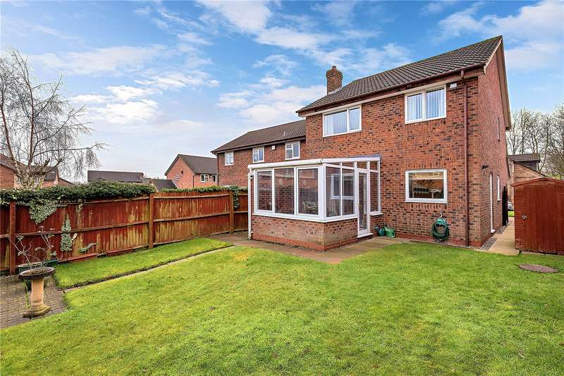 3 Bedrooms Detached House for sale in 20 Yew Tree Road, Madeley, Telford, Shropshire, TF7