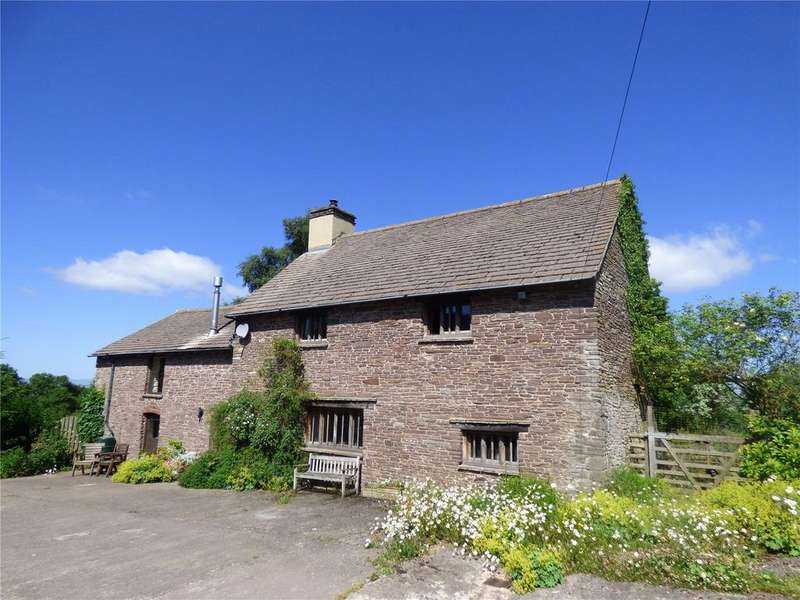 3 Bedrooms Equestrian Facility Character Property for sale in Pengenffordd, Talgarth, Brecon, Powys