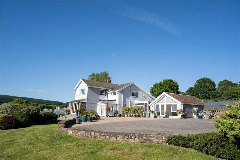 4 Bedrooms Detached House for sale in Dale View, Llandevaud Lane, Llandevaud, Monmouthshire
