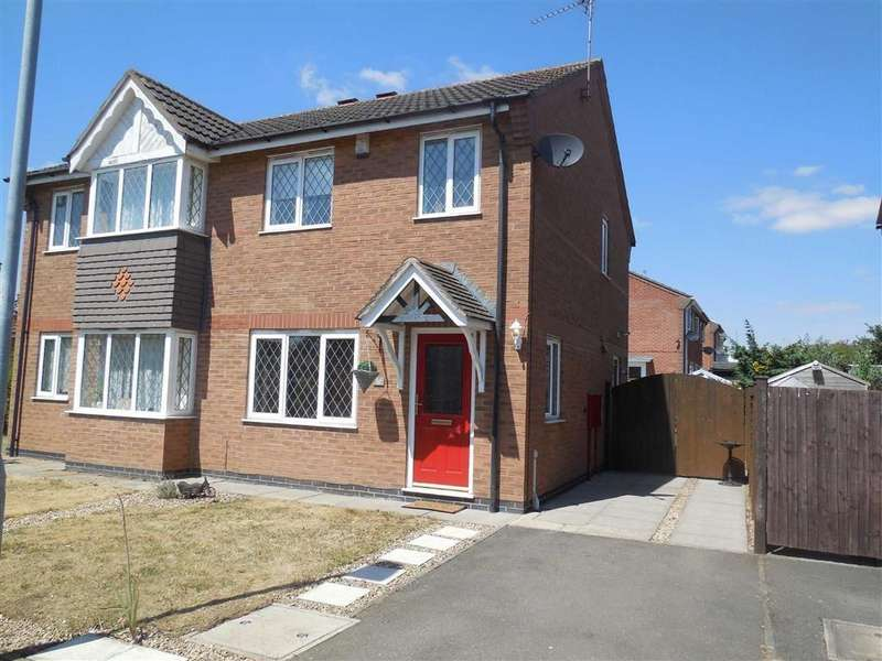 3 Bedrooms Semi Detached House for sale in FLORIAN WAY, HINCKLEY