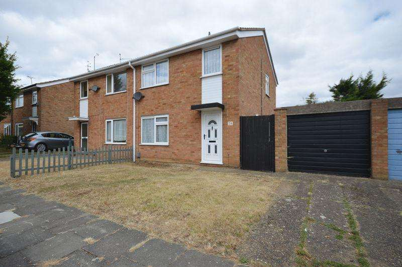 3 Bedrooms Semi Detached House for sale in Bembridge Gardens, Luton