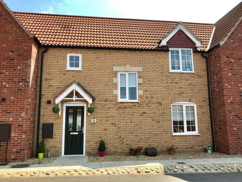 3 Bedrooms Terraced House for sale in Poppy Close, Spalding, PE11