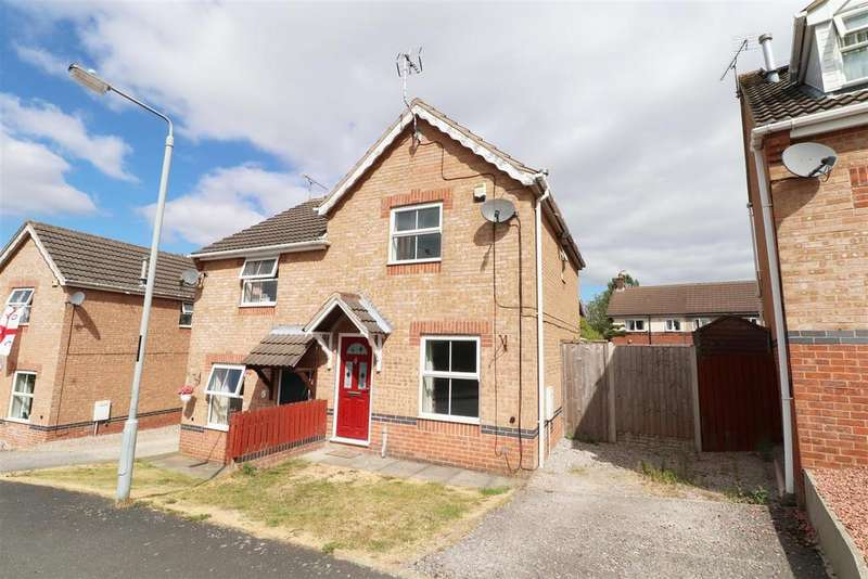 2 Bedrooms Semi Detached House for sale in Nursery Drive, Bolsover, Chesterfield