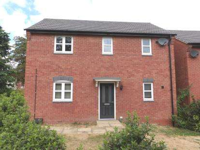 1 Bedroom Flat for sale in Ashby Grove, Loughborough, Leicestershire