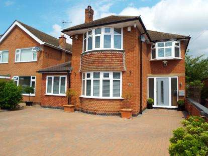 4 Bedrooms Detached House for sale in Oakfield Road, Wollaton, Nottingham, Nottinghamshire