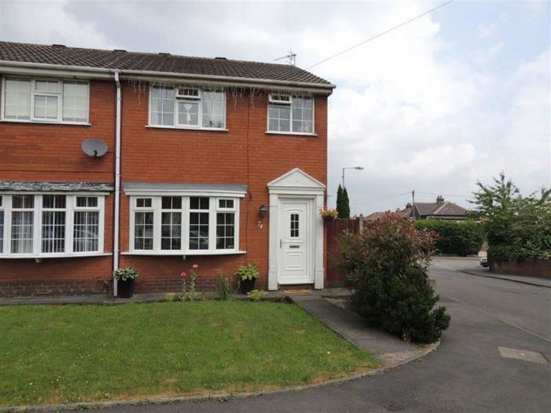 3 Bedrooms Semi Detached House for sale in Buxton Lane, Droylsden, Manchester