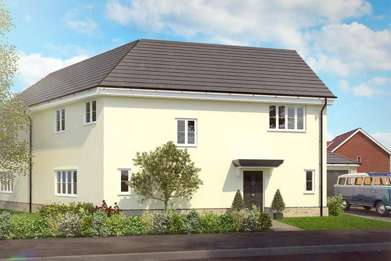 4 Bedrooms Semi Detached House for sale in Heckfords Road, Great Bentley, Colchester