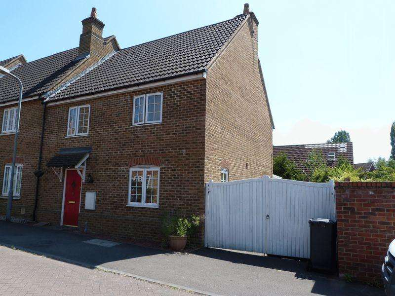 3 Bedrooms Terraced House for sale in Old Papermill Close, Wooburn Green