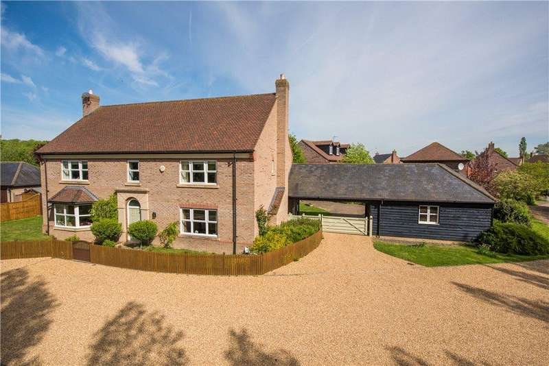 5 Bedrooms Detached House for sale in Lovett Green, Sharpenhoe, Bedford, Bedfordshire