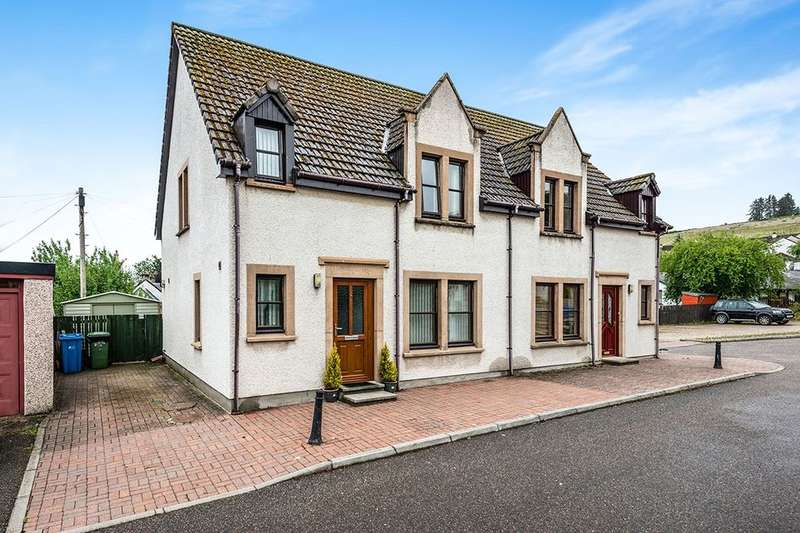 3 Bedrooms Semi Detached House for sale in Burn Court, Dingwall, IV15