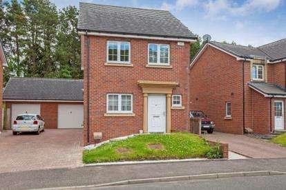 3 Bedrooms Detached House for sale in Blacader Drive, Gartcosh, Glasgow, North Lanarkshire
