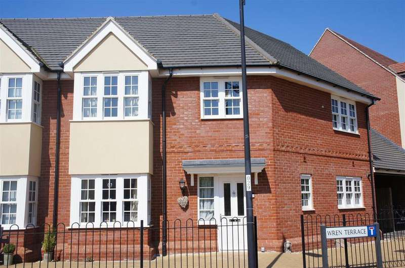 3 Bedrooms Semi Detached House for sale in Wren Terrace, Wixams, Bedford