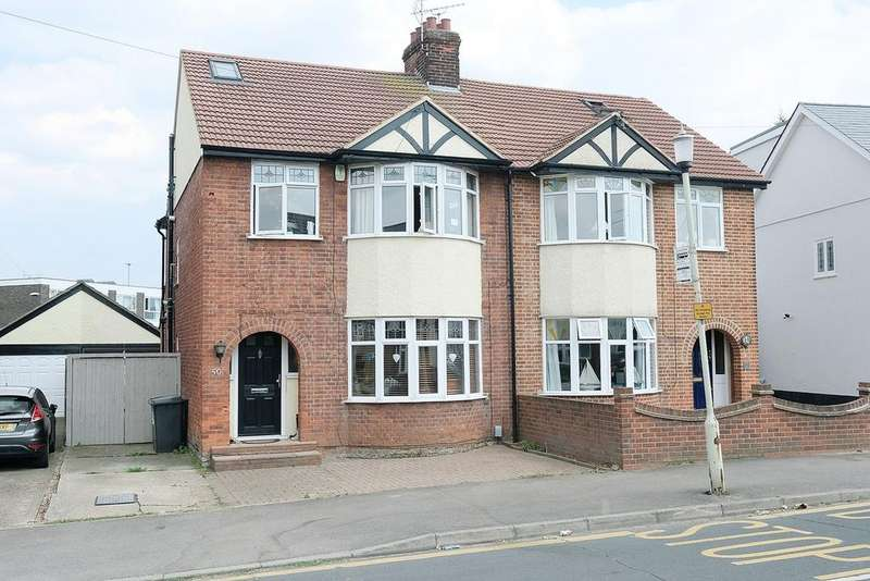 4 Bedrooms Semi Detached House for sale in Lynmouth Avenue, Old Moulsham, Chelmsford, CM2