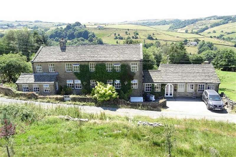 4 Bedrooms Detached House for sale in Dean House Lane, Dean House Lane, Stainland, Halifax, HX4