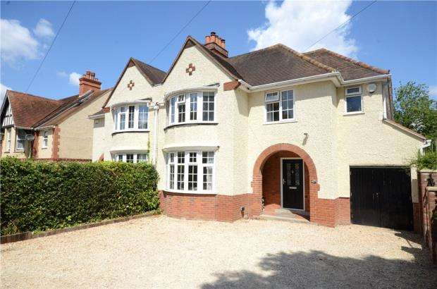 4 Bedrooms Semi Detached House for sale in Northcourt Avenue, Reading, Berkshire