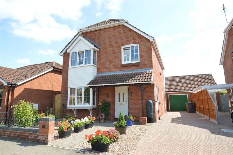 4 Bedrooms Detached House for sale in Shrubwood Close, Heckington