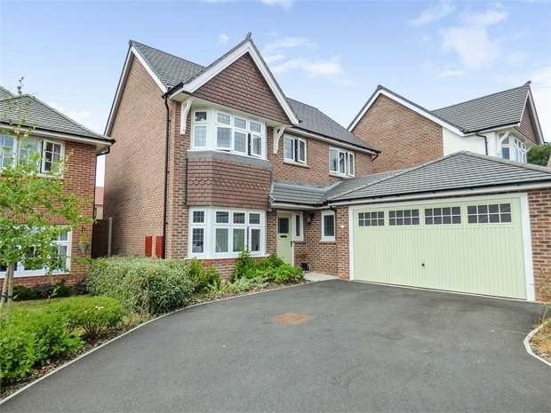 4 Bedrooms Detached House for sale in Knowle Hill Close, Buckley, Flintshire