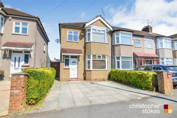 3 Bedrooms Semi Detached House for sale in Northfield Road, Waltham Cross, Hertfordshire