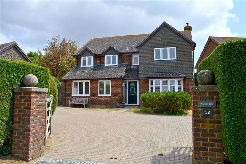 5 Bedrooms Detached House for sale in Firle Road, Seaford, East Sussex